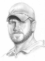 Chris Kyle Tribute Drawing!! by ZombieWil