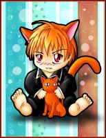 Kyo Sohma--Fruits Basket by bapity88