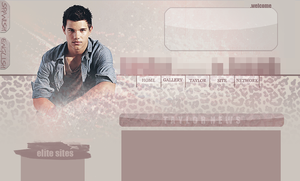 TAYLOR LAUTNER LAYOUT by limonadaconescarcha