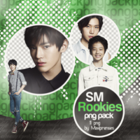SMRookies PNG Pack by Maxiprenses