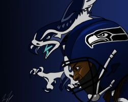 Seahawks by IGTorres-Art