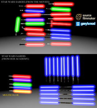 [DL] Star Wars enhanced lightsabers V2 by Stefano96