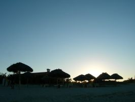 sunset in Varadero by tomegatherion