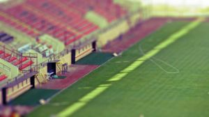miniature stadium by zfk