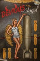 Jacket Art - Devious Angel by warbirdphotographer
