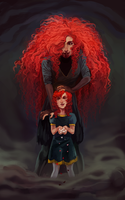 mother and daughter by mayhapping