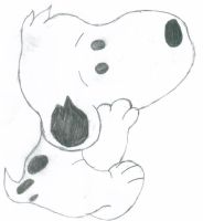 pondering snoopy by shadow4life