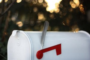 Waiting for a Letter from a good Friend. by Lilino