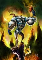 earthworm jim by Goretoon
