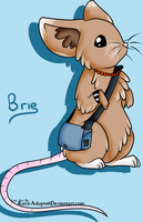 Brie as a mouse~ by Chickadee-chii