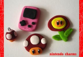 .:NINTENDO charms:. by SaMtRoNiKa