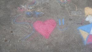 Chalk Drawing 1 by RebeKahsOwnPlace