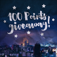 100 POINTS GIVEAWAY! [ DONE ] by abcdefgeliney