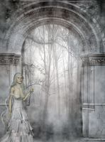 The Timekeeper Awaits by VisualPoetress