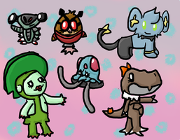 PKMNation chibis by Death-of-all