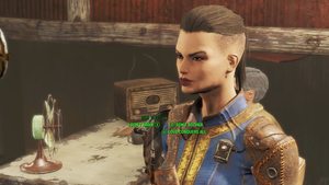 Gave Jack a haircut (Fallout 4) by Nightfable