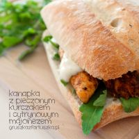 roast chicken and lemon mayo sandwich by Pokakulka