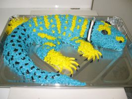 Cake - Eastern Collared Lizard by R-Eventide