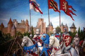 The Siege of Carcassonne by dashinvaine