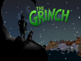 The Grinch game background by greece4life
