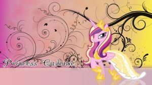 Princess Cadence Wallpaper by ALoopyDuck