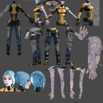Super Duper Borderlands 2 Maya Reference by ninjagal6