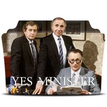 Yes Minister 1980 Folder Icon by rohithkumarsp
