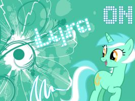 Lyra Wallpaper by funyan-lineart