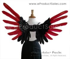eProductSales PSYCHE Wings red by eProductSales