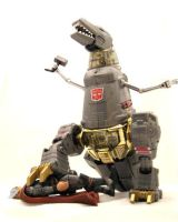 The Mighty Grimlock by SalemCrow