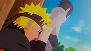 Naruto and Sasuke by SweeetRazzbery
