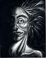 Scratchboard mess by asunder