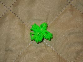 Loom Charm: Four Leaf Clover by Culinary-Alchemist