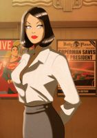 Retro Lois Lane by Des Taylor by DESPOP
