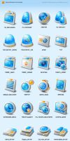 skyey-2s windows icons by kirozeng
