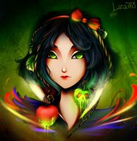 Poisoned apple by Liza763