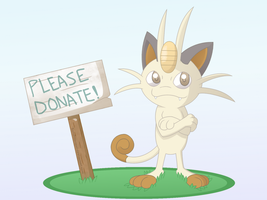 Donation Box by Sandstormer