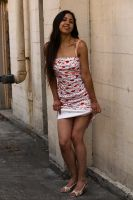 MariaJ2 Print Dress 415 by photoscot