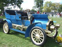 1907 Dragon 5-Passenger Touring Car by Aya-Wavedancer