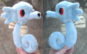 Horsea Plush by SourCandyx
