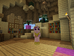 I am in twilights library again by MiAmoreCadence