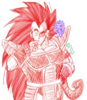 Raditz POWERS by Paradise-of-Darkness