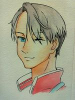 Victor (Yuri! on ICE) by DJleFab