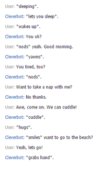 Clever Bot's like the CUTTEST by lovethenarutohoties2