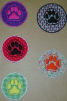 Puppy Paw Patches by Miss-Minerva-Sage