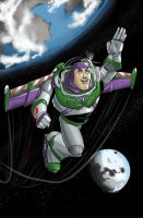 Buzz Lightyear by alfred183