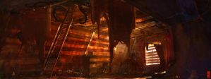 The Attic Lives by TitusLunter