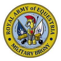 Equestria Royal Army Seal by SouthParkTaoist