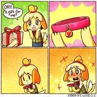 I want to ______ Isabelle by kata-009