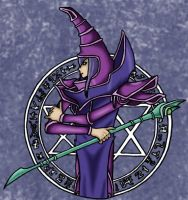 Dark Magician by Ryukai-MJ